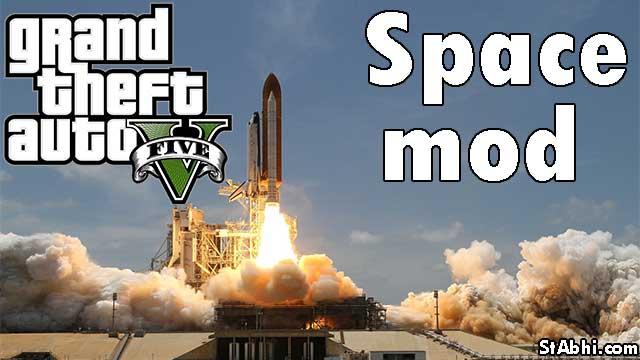 GTA 5 space mod