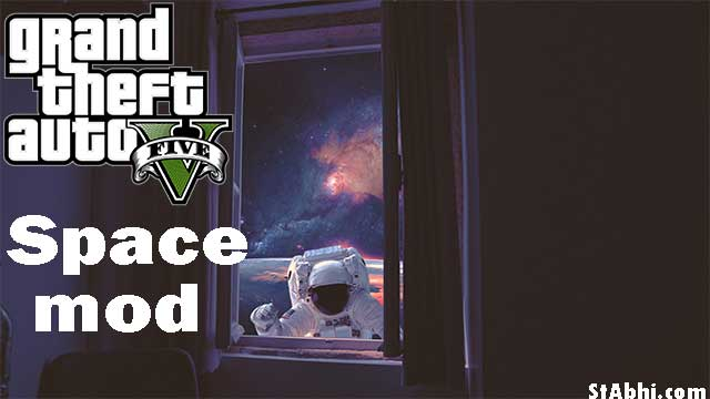 How to install GTA 5 space mod in PC